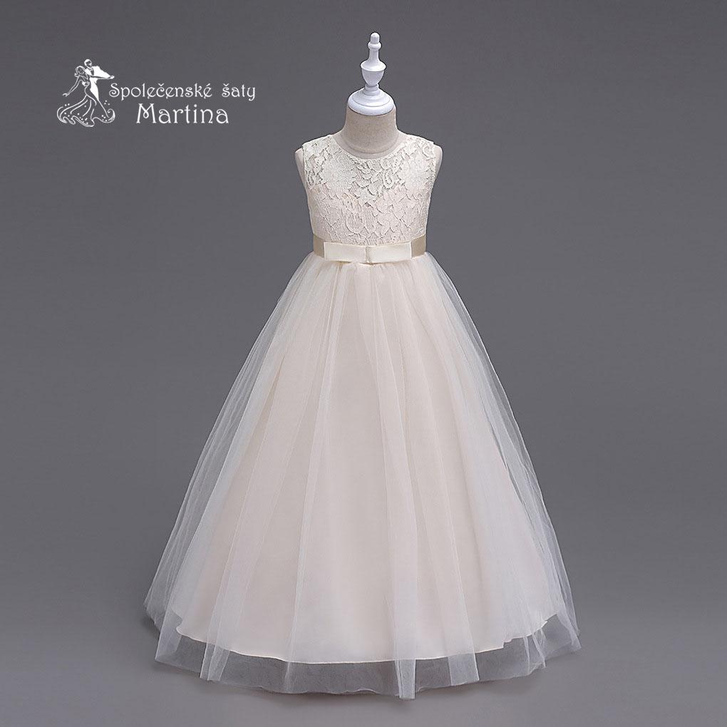 c93a3c57aabd Dievčenské oblečenie a obuv na svadbu - Šaty