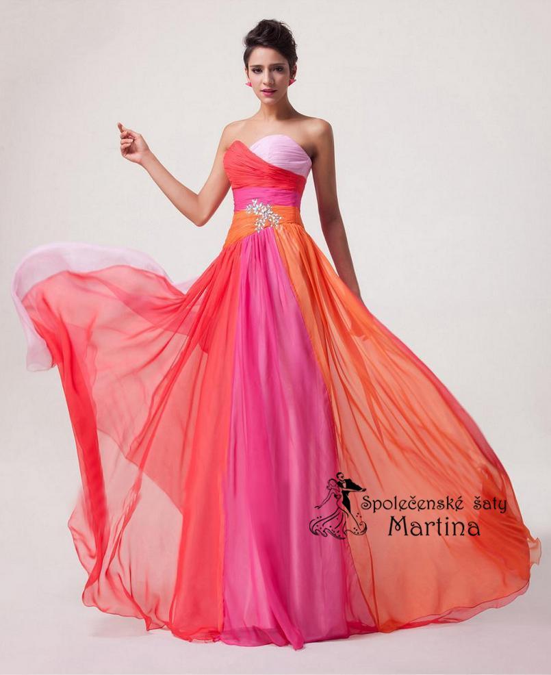 Spoločenské-maturitné-plesové šaty 5339863daaf