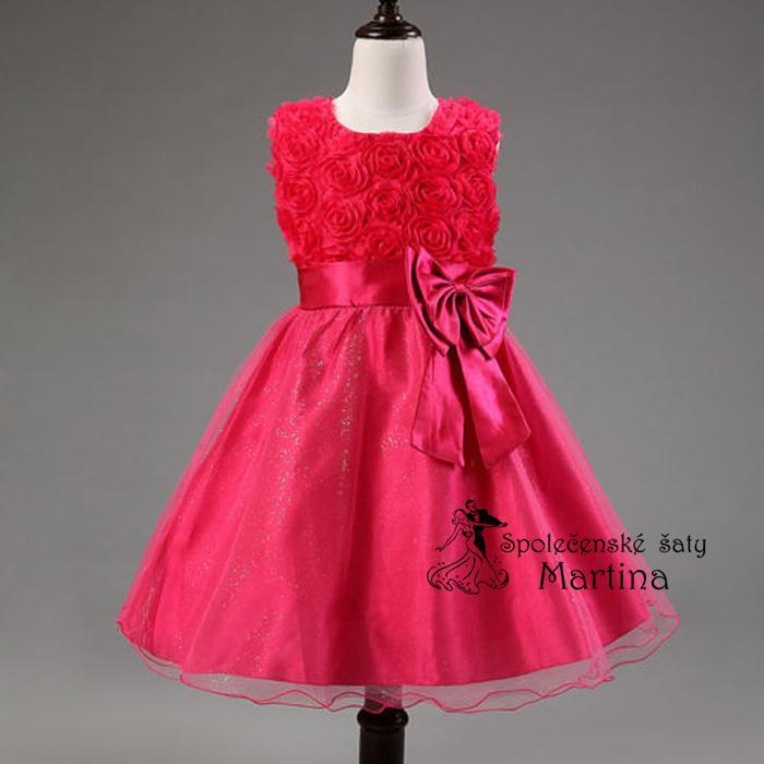 Spoločenské šaty pre družičku 2-10 rokov  c8e7b85370e