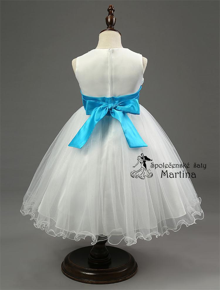 Spoločenské šaty pre družičku 2-10 rokov  3ff70b4422d