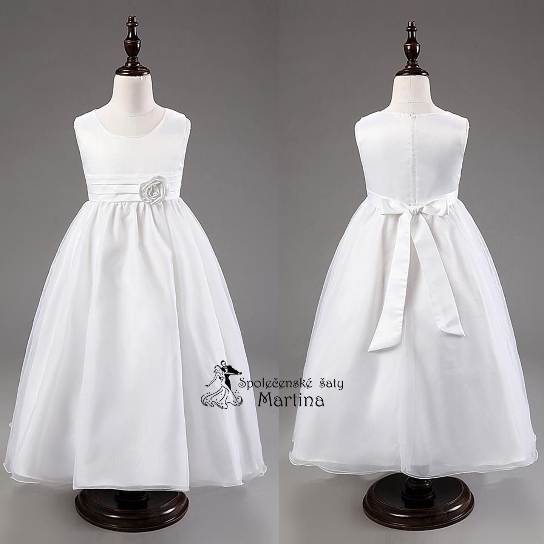 68dc113d58e9 Spoločenské šaty pre družičku 3-9 rokov