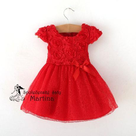 šaty pre družičku 0-2 roky, 80