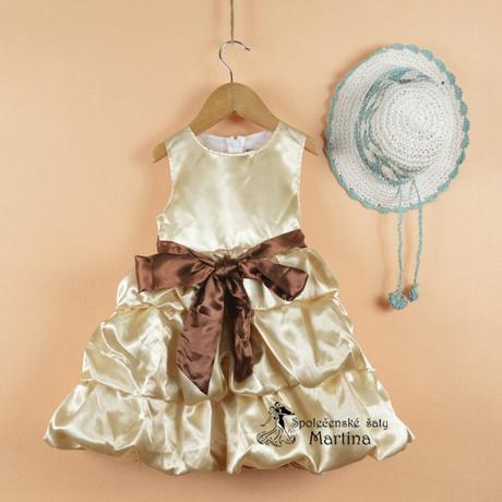 Šaty pre družičku 2-6 rokov, 110