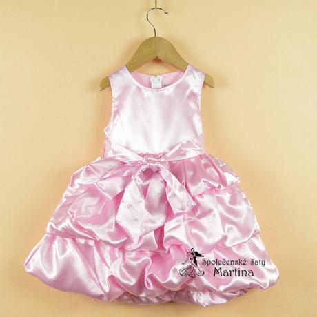 Šaty pre družičku 2-6 rokov, 116