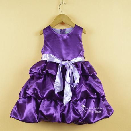 Šaty pre družičku 2-6 rokov, 122
