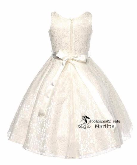 Šaty pre družičku 6-12 let, 128
