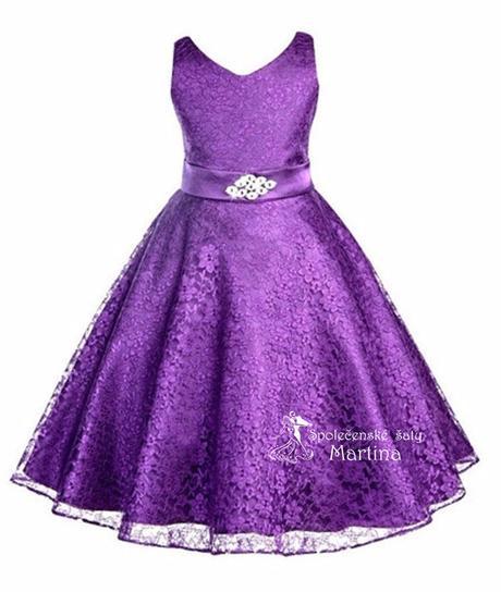 Šaty pre družičku 6-12 let, 134