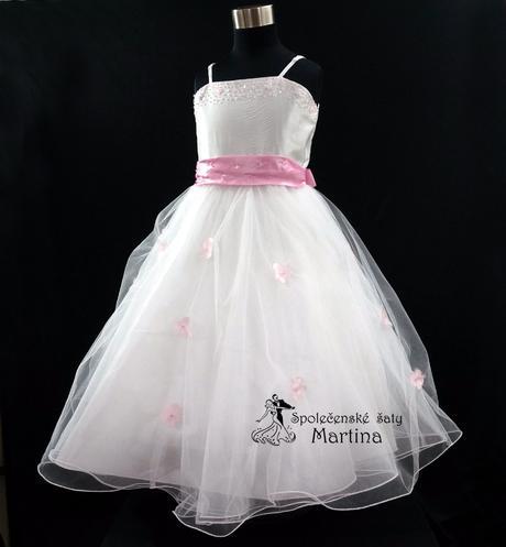 Spoločenské šaty pre družičku 1-12 rokov , 110