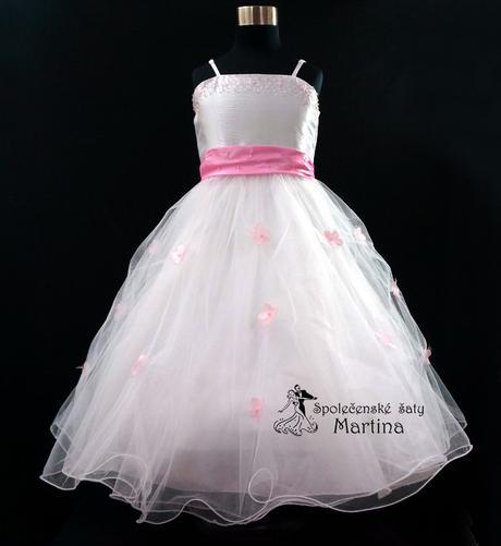 Spoločenské šaty pre družičku 1-12 rokov , 134