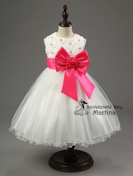 Spoločenské šaty pre družičku 2-10 rokov , 104