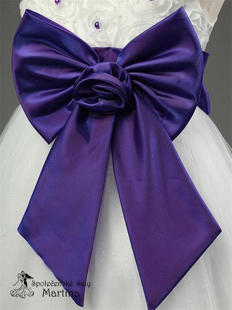 Spoločenské šaty pre družičku 2-10 rokov , 110