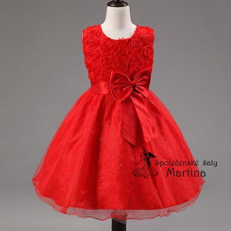 Spoločenské šaty pre družičku 2-10 rokov , 140
