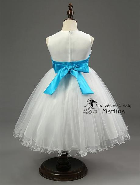 Spoločenské šaty pre družičku 2-10 rokov , 86