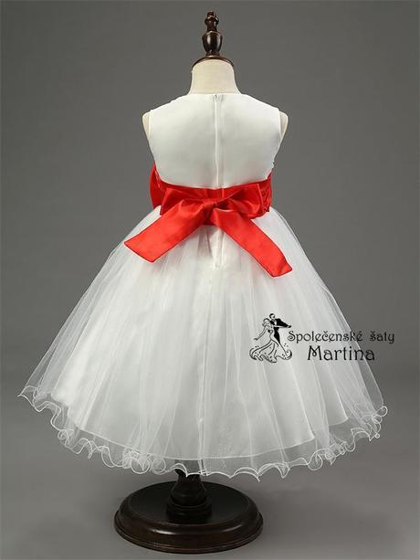 Spoločenské šaty pre družičku 2-10 rokov , 92