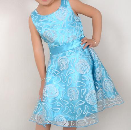 Spoločenské šaty pre družičku 3-12 rokov , 122