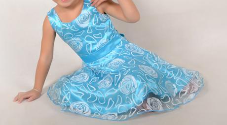 Spoločenské šaty pre družičku 3-12 rokov , 128