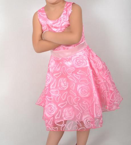 Spoločenské šaty pre družičku 3-12 rokov , 140