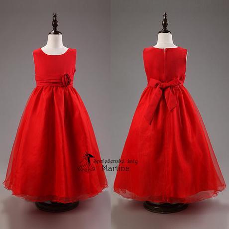 Spoločenské šaty pre družičku 3-9 rokov, 104