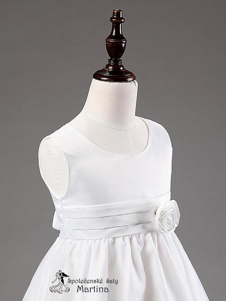 Spoločenské šaty pre družičku 3-9 rokov, 110