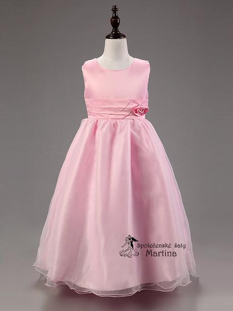 Spoločenské šaty pre družičku 3-9 rokov, 116