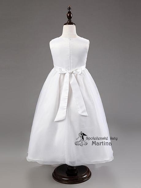 Spoločenské šaty pre družičku 3-9 rokov, 122
