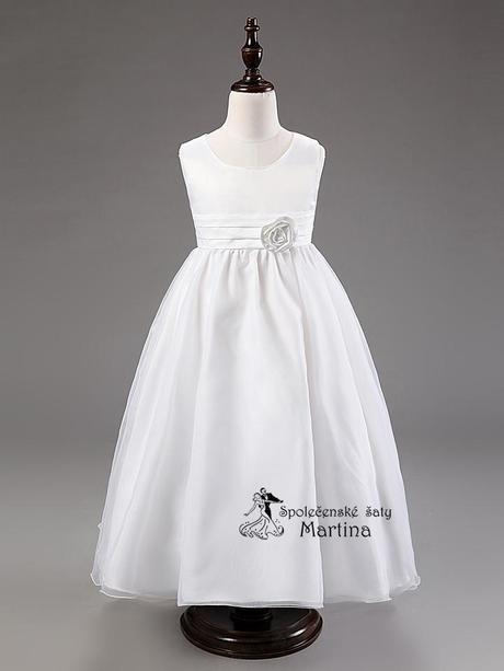 Spoločenské šaty pre družičku 3-9 rokov, 134