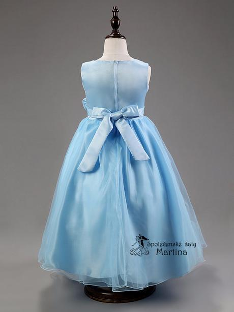 Spoločenské šaty pre družičku 3-9 rokov, 140