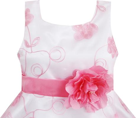 Spoločenské šaty pre družičku 4-12 rokov , 140