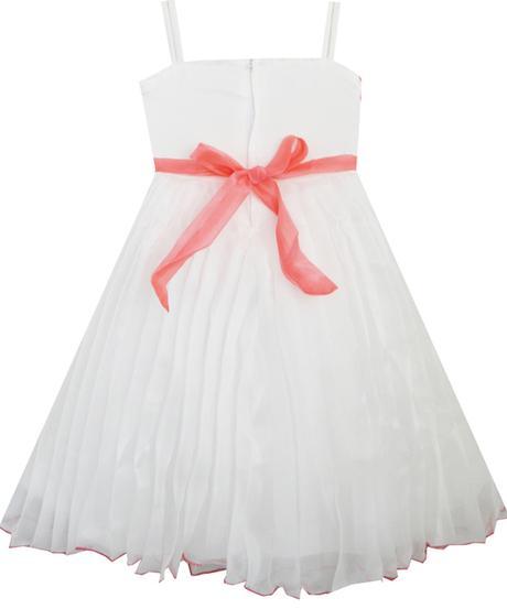 Spoločenské šaty pre družičku 4-8 rokov , 128