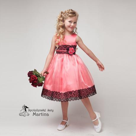 Spoločenské šaty pre družičku 4-9 rokov, 104