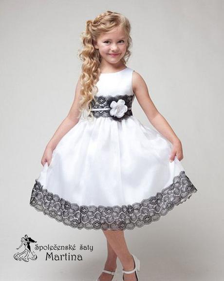 Spoločenské šaty pre družičku 4-9 rokov, 122