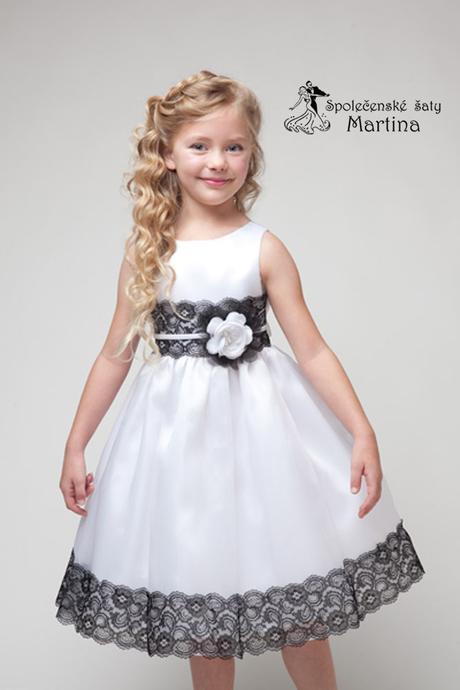 Spoločenské šaty pre družičku 4-9 rokov, 134