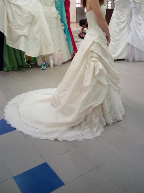 Svadobné šaty zn. La Sposa, model Leganes 36/38, 36