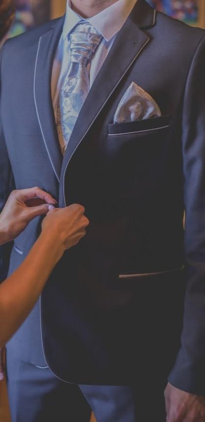 Kravata + vreckovka,