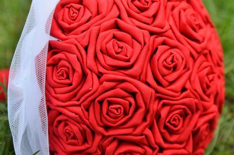 Originální svatební kytice,