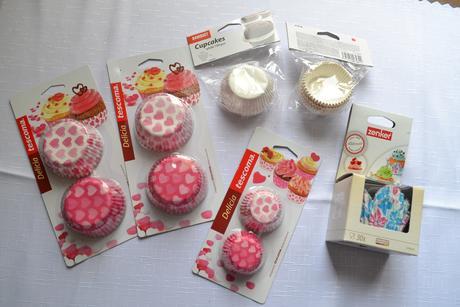 Košíčky na muffiny a cupcakes,