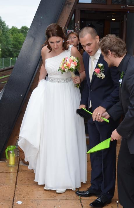 Antické svatební šaty Morilee , 40