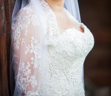 značkové svadbné šaty Madam Burcu , 38