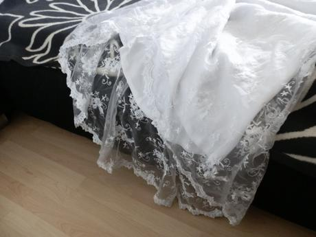 boho/vintage svatební šaty, 42