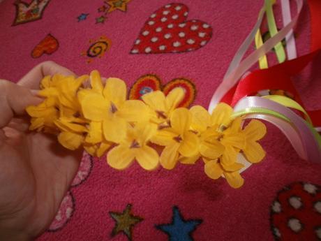 kvetinavá parta,