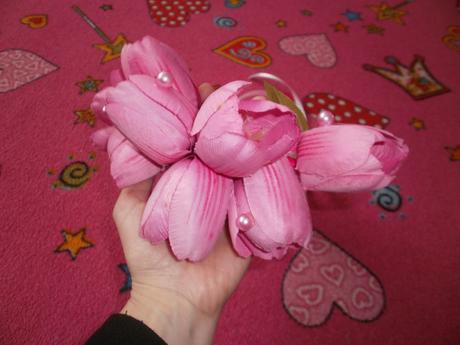kvetinová parta,