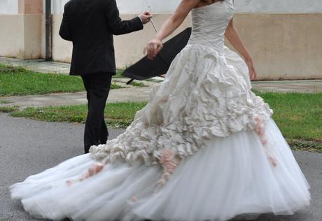 Svadonbe šaty Pompadour, 38