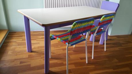 Detsky stôl so stoličkami ,