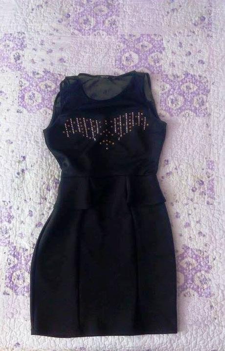 čierne šaty ORSAY, 38