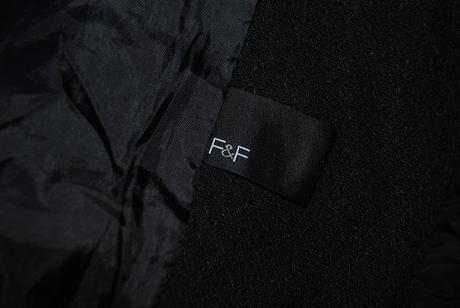 černý kabátek FaF 38 , 38