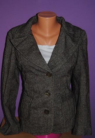 Hnědé sáčko kabátek velikost M, 40