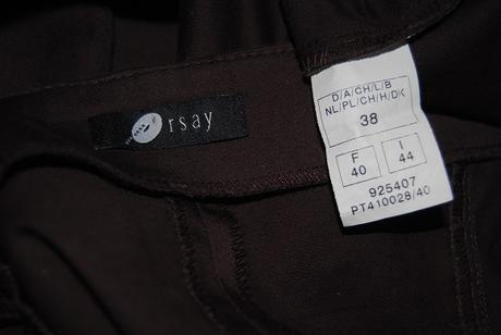 Hnědé zdobené šaty Orsay 38, 38