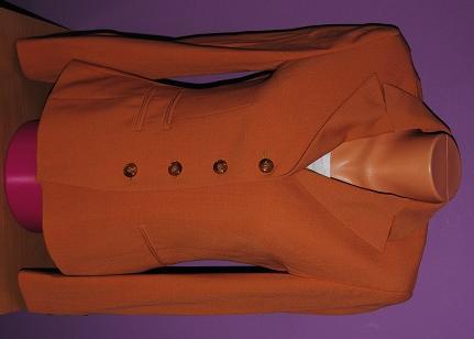 Hnědooranžové sako Bianca vel.38, 38