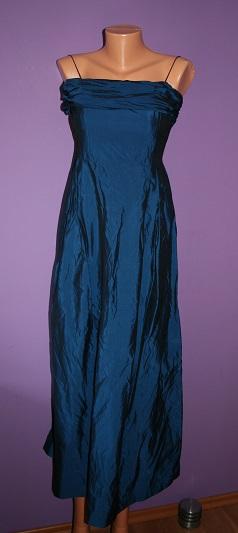 Tmavomodré šaty večerní Wallis 10-14(38-42), 38