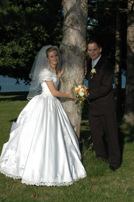 9a6d80b94af7 Predám svadobné šaty veľkosť 36-38